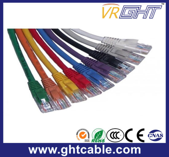 1m CCA RJ45 UTP Cat5 Patch Cord/Patch Cable pictures & photos