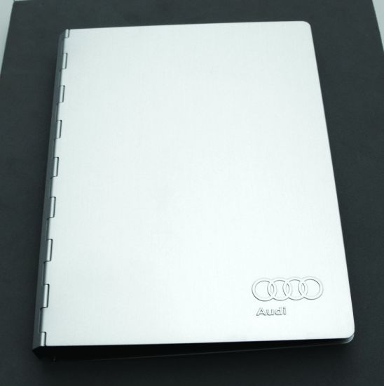 Customised Stationary Gift and Promotion Metal Cover Loose Leaf Notebook