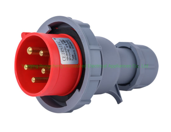 16A Waterproof Industrial Plug 5-Pin with Ce Certification