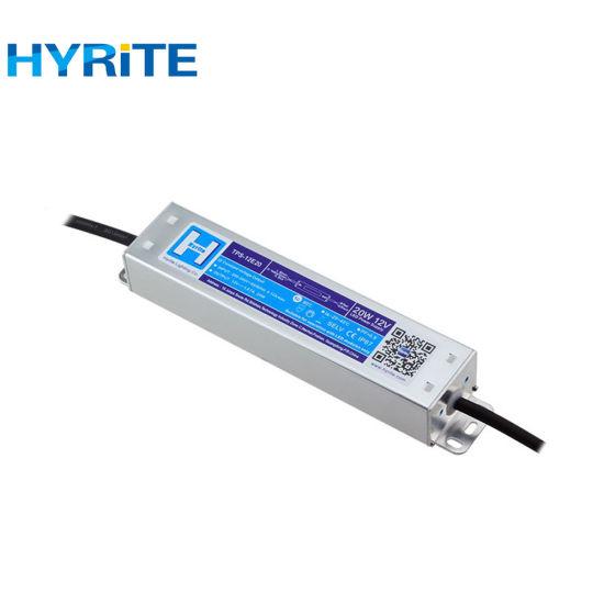 12V 24V 5V 20W Waterproof LED Transformer with TUV Certificate