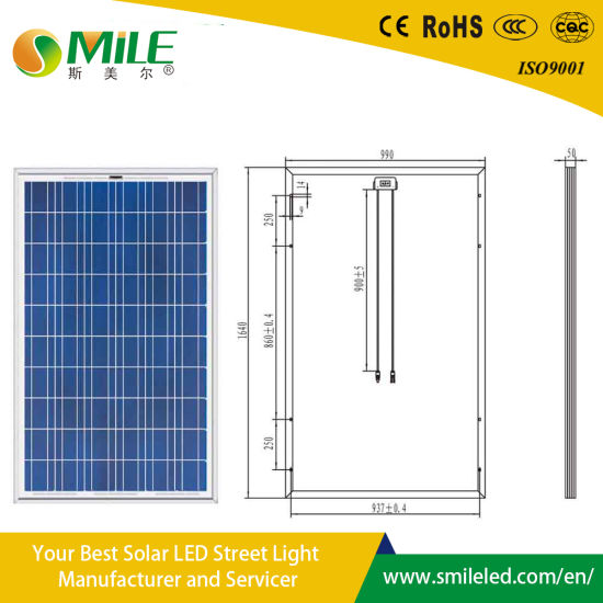 Solar Moudle Charge Battery Light Energy LED Street Lighting 5 Years Warranty Automatic Solar Solar Power System