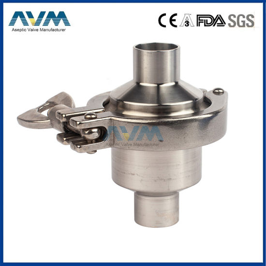 Stainless Steel Sanitary Non Return Clamped Check Valve pictures & photos