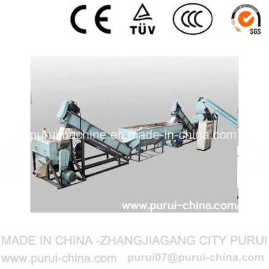 High Output Plastic Recycling Machine for PP Jumbo Bag Recycling pictures & photos