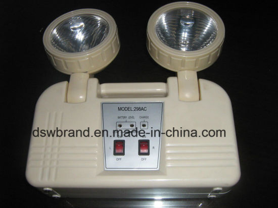 China LED Rechareable Emergency Light with Battery Backup
