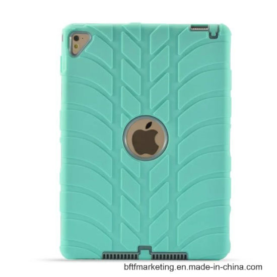 Michellin Tyre Pattern Combo Heavy Duty Full Protection Case for All iPad Series pictures & photos