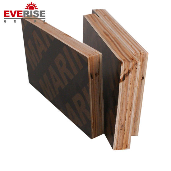 WBP Glue Two Time Hot Press 12mm-25mm Film Faced Plywood for Construction