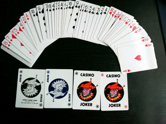 China Casino Club Special Poker Playing Cards 888 China