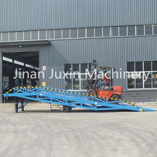 8t Truck Ramp for Forklift Unloading