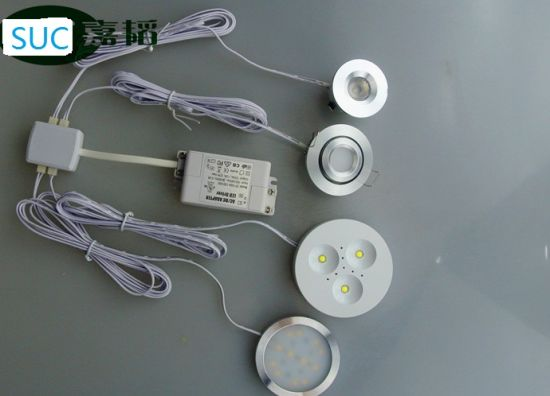 120 Degree Beam Angle1w Constant Current LED Cabinet Light pictures & photos
