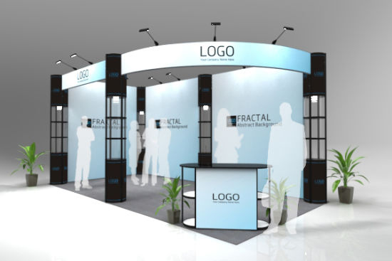 Exhibition Booth Reference : China custom exhibition booth design using aluminum