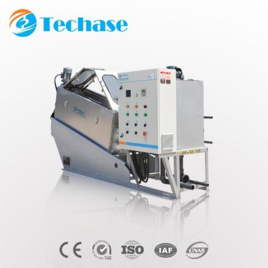 Sludge Dewatering Machine Screw Press Compare with Centrifuge Separator