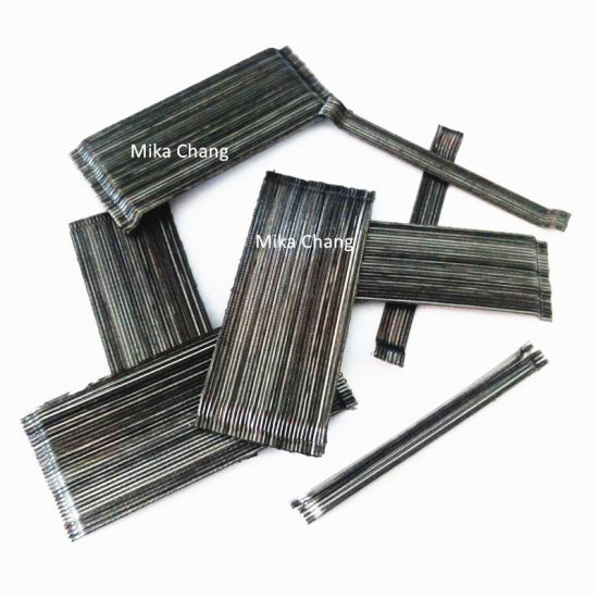 Cold Drawn Collated Hooked End Steel Fiber for Concrete Reinforcement