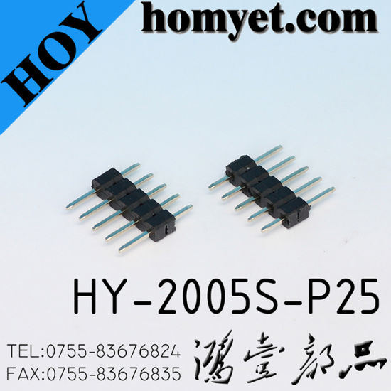 2.0mm Straight Pin Header Pin Connector for PCB pictures & photos