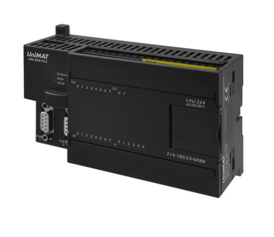 unimat 200 plc with 224 ac / dc / relay equivalent of siemens cpu pictures &