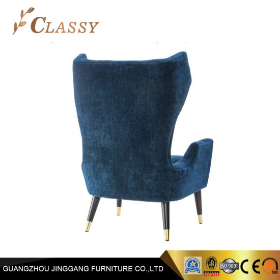 Pleasant Velvet High Backrest Home Office Armchair With Wingback Gmtry Best Dining Table And Chair Ideas Images Gmtryco