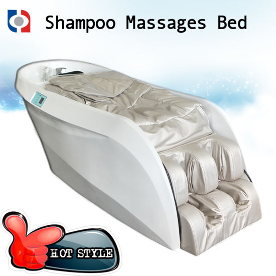 Full Body Massage Shampoo Chair / Hair Salon Massage Bed pictures & photos