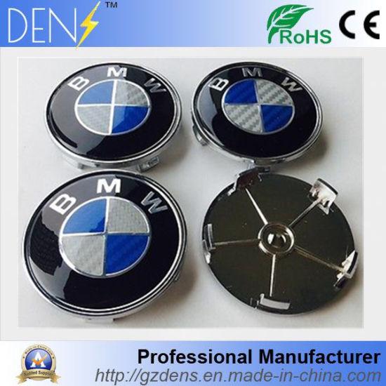WHEEL CENTRE CAPS BLUE//WHITE 68MM FOR BMW X6 SERIES MODELS