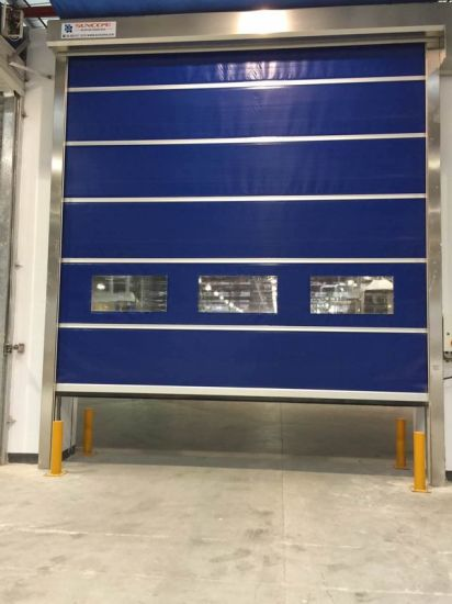 Automatic Rapid and Durable Industrial Door pictures & photos