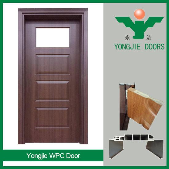 China Hot Sale Wpc Interior Doors Cheap Price Door Panel China