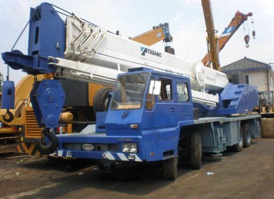 [Hot Item] Tadano 55 Ton Crane (TG-550E)