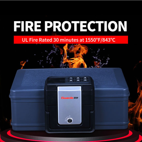 Mini Fireproof Safe Box with En Panel for Home and Office
