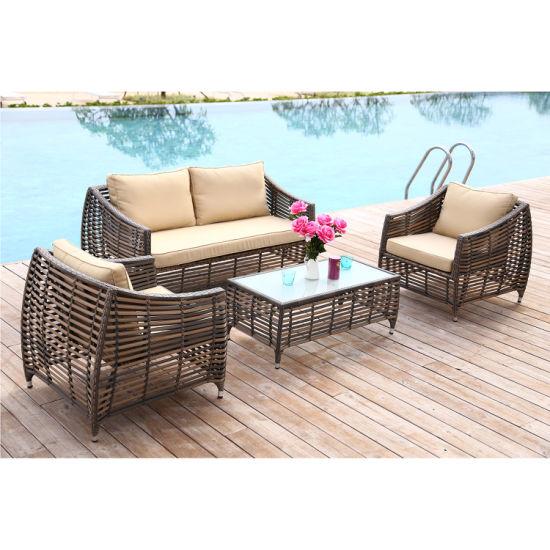Meiyaxin Wicker Modern Outdoor Sofa Rattan (accept customized)