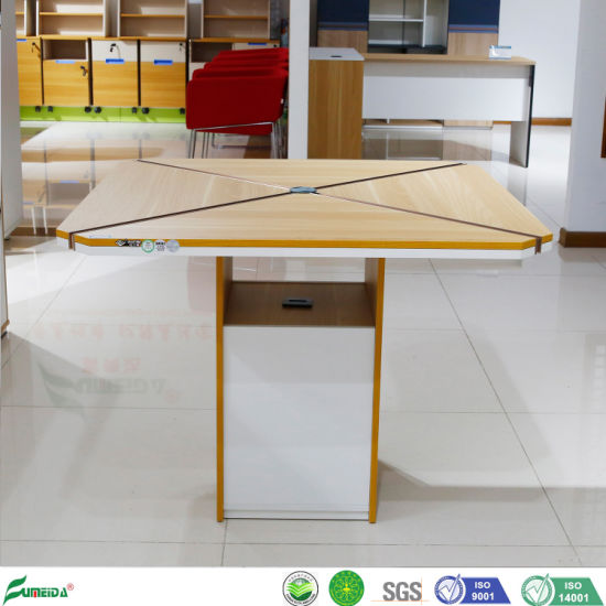 New Design Office Furniture Small Square Meeting Table Chatting Desk