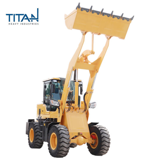 Titanhi CE ISO SGS OEM Cheapest 4WD Front Wheel Loader with Good Quality