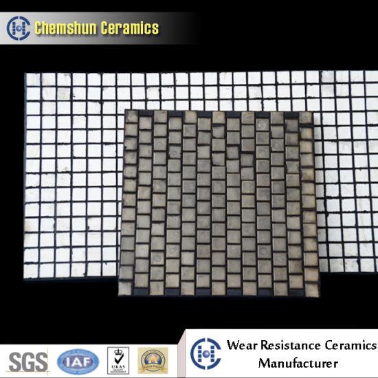 Ceramic Manufacturer Alumina Ceramic Wear Liner as Wear Protection Parts