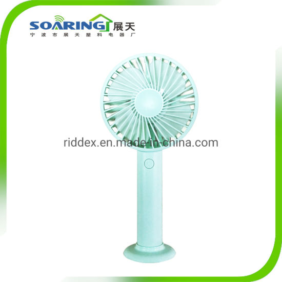 Portable Hand Held Electrical Mini USB Desk Fan Rechargeable
