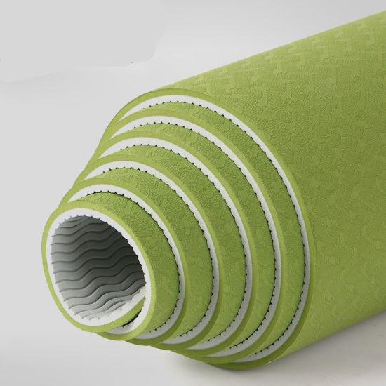 Dfaspo TPE Yoga Mat Logo Custom
