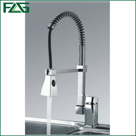 Flg Brass Body Pull out Kitchen Faucet Mixer/Tap