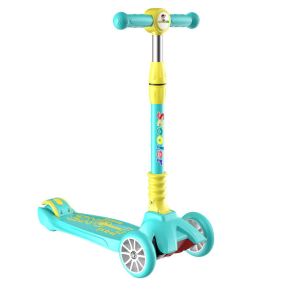 2021 Hot Selling New Design Three Wheel Scooter for Child Push Kick Kids Scooter Kids 4 Wheel Scooter