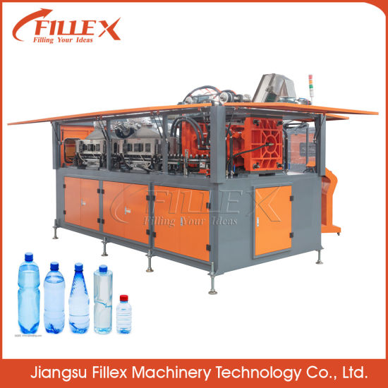 Fully Automatic Plastic Bottle Making Machine with Stretch Blow