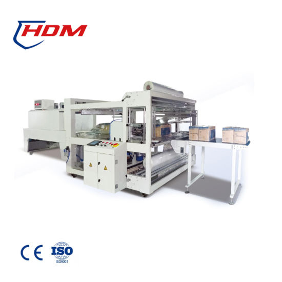 Automatic Four Side Sealer Big Boxes Windows Doors Shrink Wrapping Machine