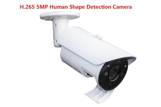 Fsan 5MP Infrared HD Network Bullet IP Camera with Human Shape Detection