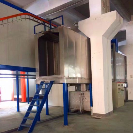 Automatic Liquid/Powder Coating Spray Production Line for Lamp Post