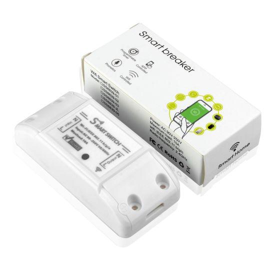 Tuya Smart Life WiFi Switch 90-250V 10A WiFi Light Smart Switch Tuya Smart  Life