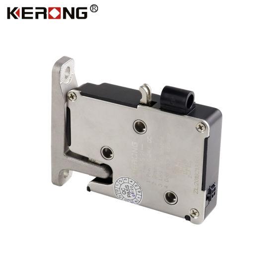 China Kerong Electric Logistic Bolt Qr Code Locker Lock
