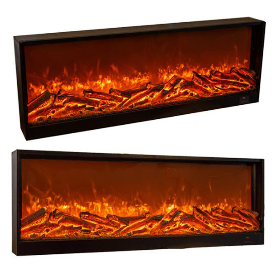 China Hot Sale Electric Fireplaces Phone App Remote Control Tv
