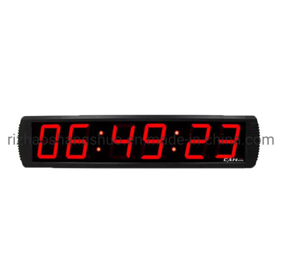 Remote Control Outdoor Waterproof 6 Digits LED Race Timer