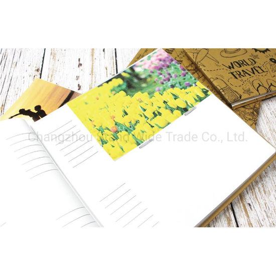 Printed Kraft Book Bound Photo Albums for 100 Photos, Family Album Photo,  Customize Hand Made DIY Albums Holds 3X5, 4X6, 5X7, 6X8, 8X10 Photos