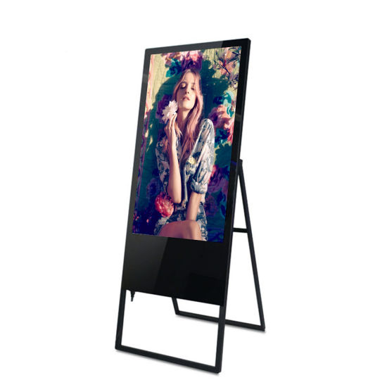 Floor Stand Advertising Digital Signage LCD Display for Supermarket