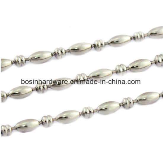 Nickel Plated Steel Ball Chain for Bottle Cap pictures & photos