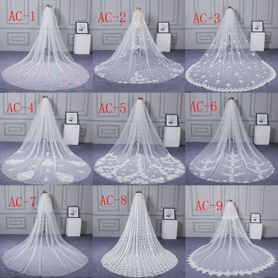 Wholesale Cheap Long Veils Soft Tulle Bridal Veil Wedding Veil