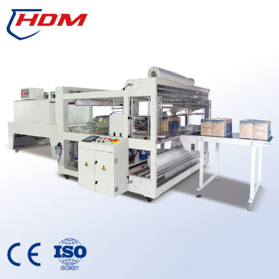 Automatic Double Sides Sealing Machine Ceramic Tiles Shrink Wrapping Machine