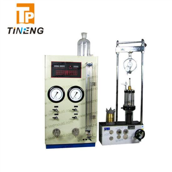 Soil Ucs Test 10kn/30kn Strain Controlled Triaxial Test Apparatus
