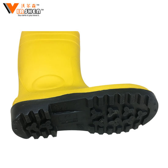 193829a5e4e1 China Good Quality Best Wholesale PVC Safety Knee Boots Gumboots ...