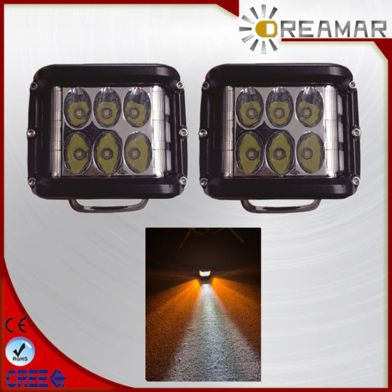 36W CREE LED Car Work Light with Double Color.