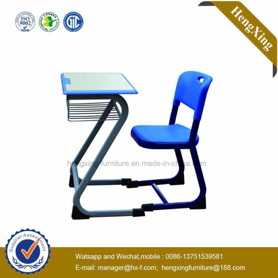 Metal Legs Student Folding Classroom Chair with Adjustable Writing Table Pad (HX-TRC008.1) pictures & photos